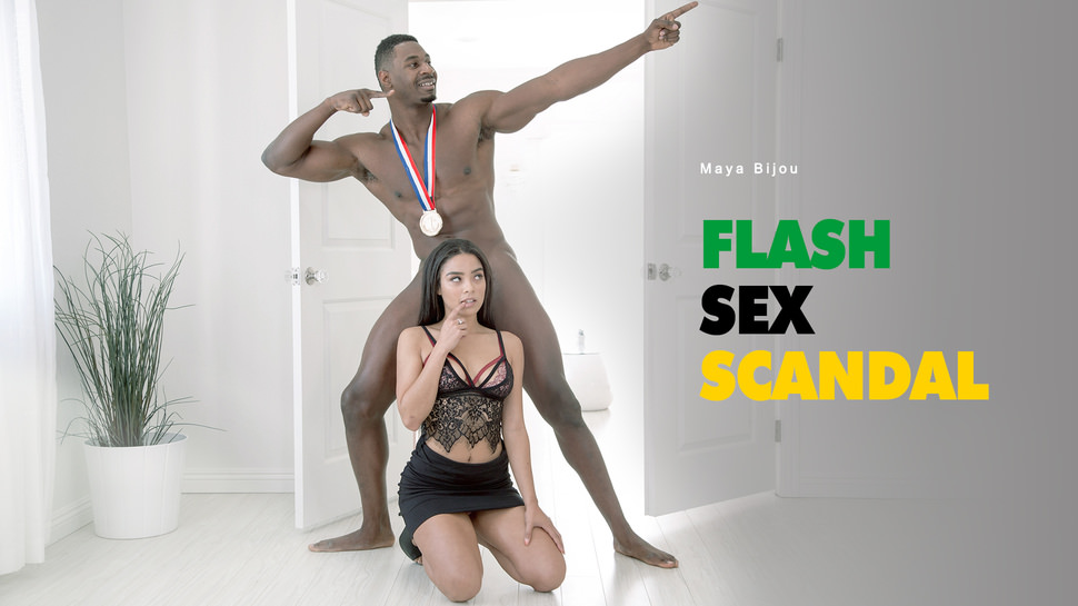 Flash Sex Scandal - Maya Bijou