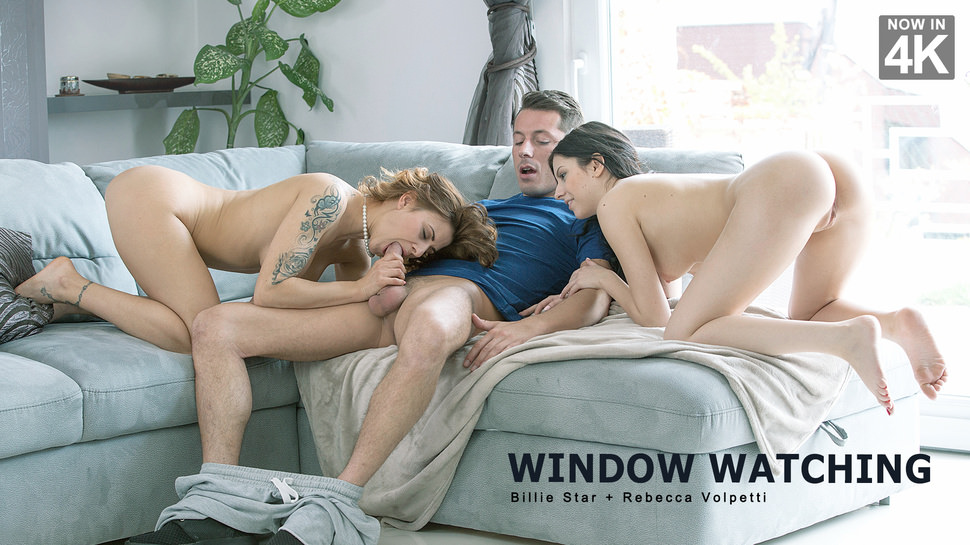 Billie Star, Rebecca Volpetti – Window Watching – Step Mom Lessons